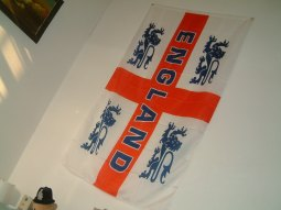 England Flag on da Wall